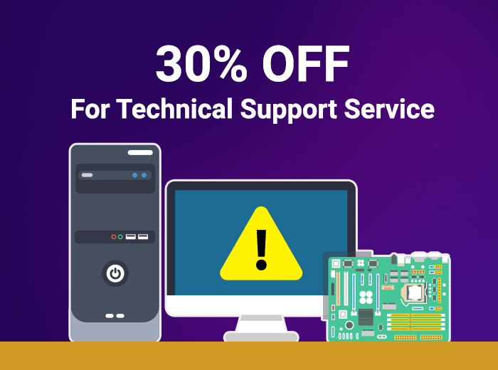 30 off techical support service