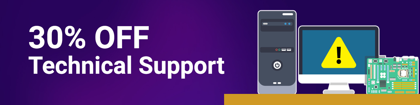Technical Support Banner