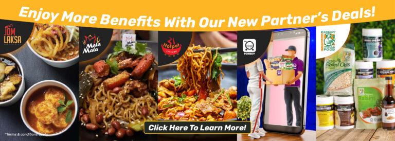 Enjoy More Benefits With Our New Partner's Deals!