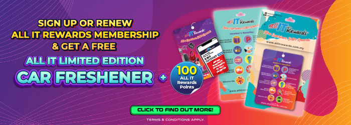 Sign Up or Renew ALL IT Rewards Membership